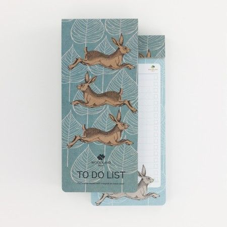 Woodland Trust Hare To-Do-List - £5.50