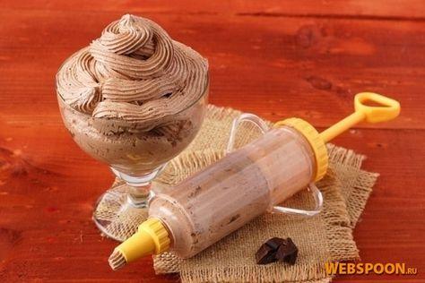 Заварной шоколадно-масляный крем с фото | Рецепт заворного шоколадно-масляного крема