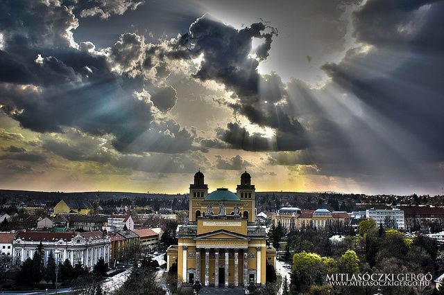 eger hungary | Basilica in Eger, Hungary