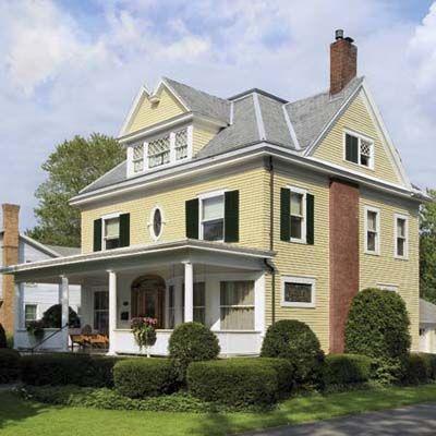 17 best images about exteriors paint colors on pinterest exterior paint colors painting brick - Hunter green exterior paint paint ...