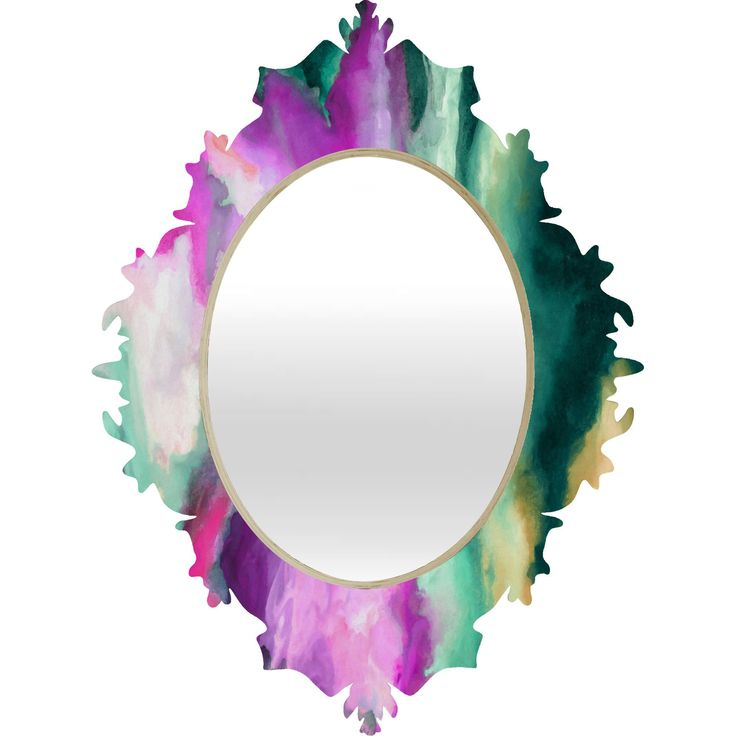 Jacqueline Maldonado Fever Dream Baroque Mirror | Deny Designs