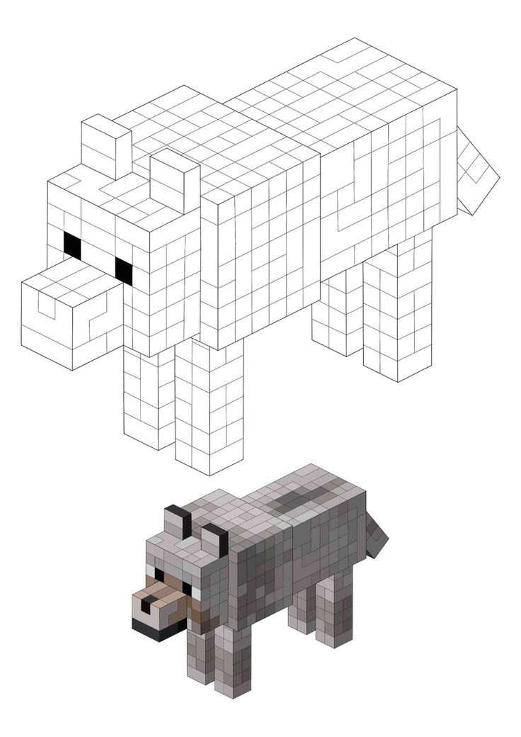 Minecraft Wolf Coloring Pages 2 Free Coloring Sheets 2021 In 2021 Minecraft Wolf Minecraft Coloring Pages Free Coloring Sheets