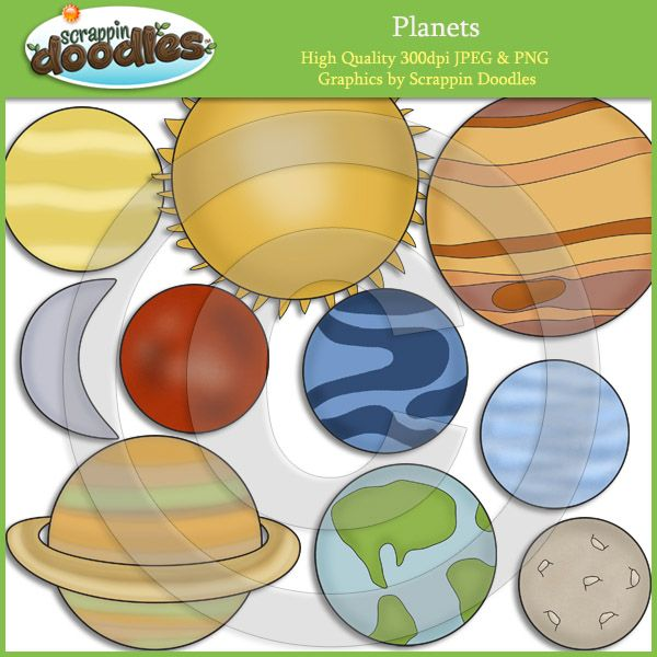 The 9 Planets Clip Art (page 3) - Pics about space