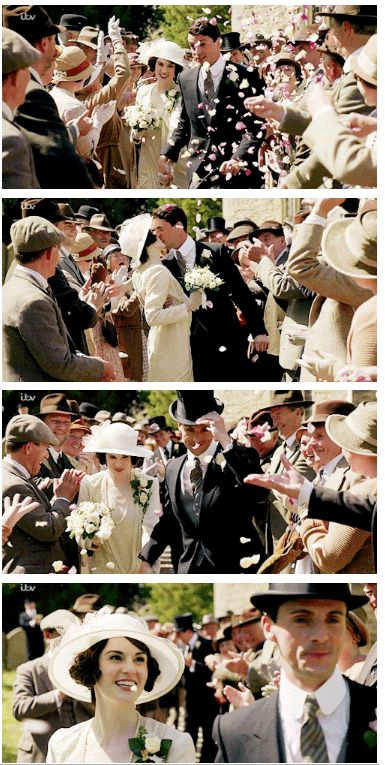 Lady Mary and Henry Talbot - Downton Abbey
