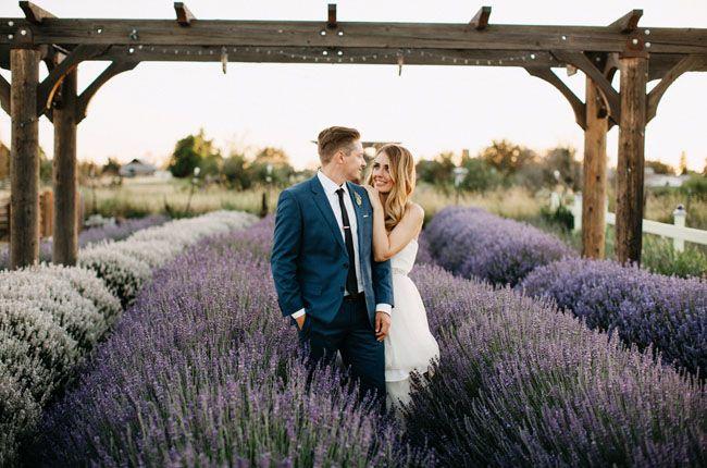 Handmade Idaho Lavender Farm Wedding Kelli Tim