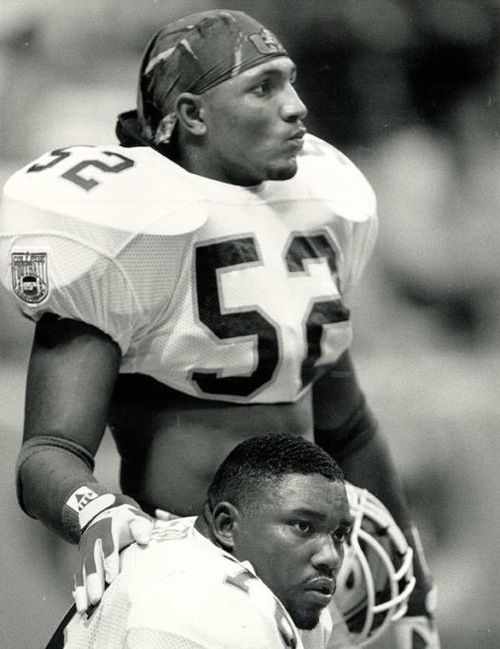 Warren Sapp & Ray Lewis my favorite players of all time