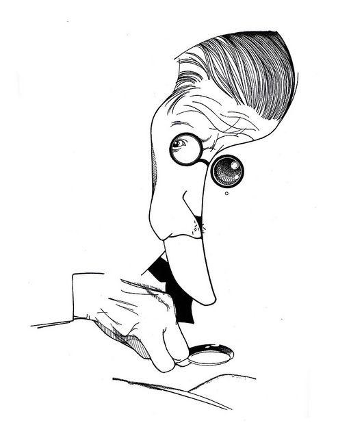 James Joyce - in Alfabeto Literário (Cassio Loredano)