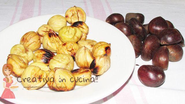 Caldarroste, buonissime anche preparate in casa! Leggete la facilissima ricetta >> http://creativaincucina.blogspot.it/2015/12/caldarroste.html Chestnuts, delicious even homemade! Read the recipe easy >> http://creativaincucina.blogspot.it/2015/12/caldarroste.html