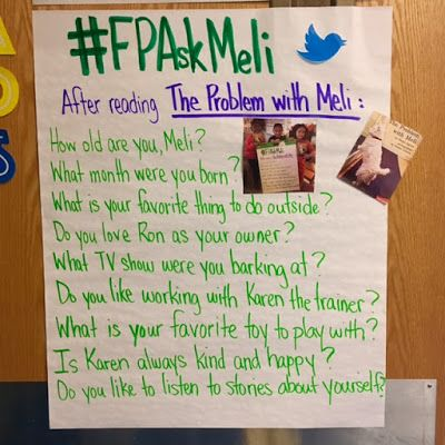 Do you use Fountas' and Pinnell's Leveled Literacy Intervention Kits? Check out F&P's Twitter hashtag #FPAskMeli to connect your students with Meli!
