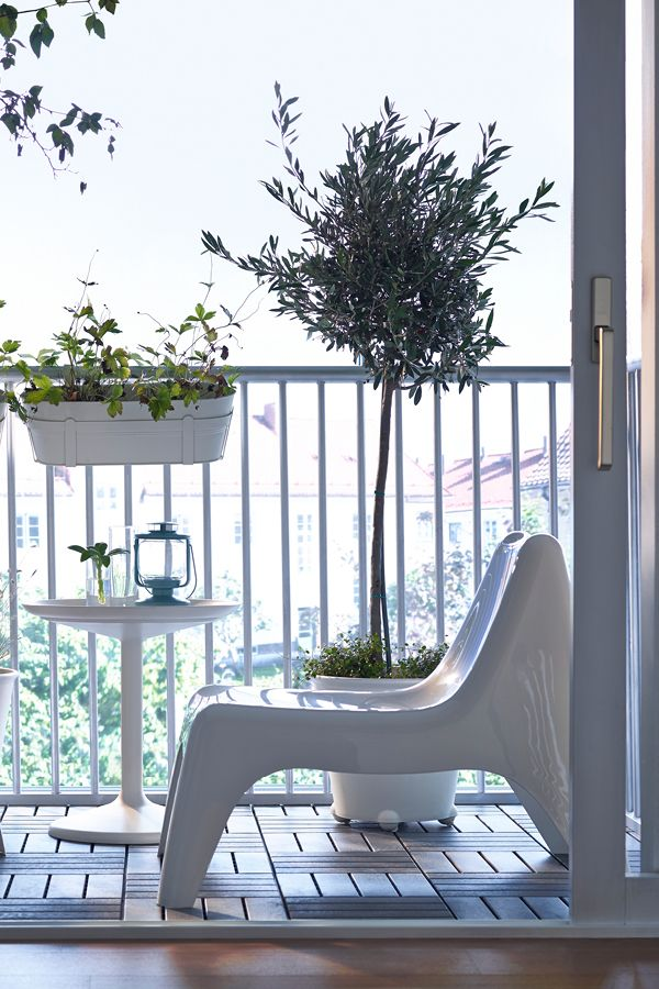Take it easy outdoors with your favourite outdoor easy chair from Ikea. theguideonline.com.au