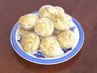 Muffins aux bananes et compote