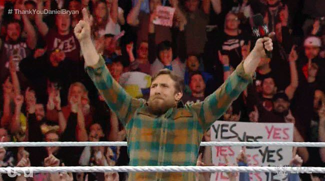 Daniel Bryan said goodbye to WWE at the end of Raw in an incredible, heartfelt speech.