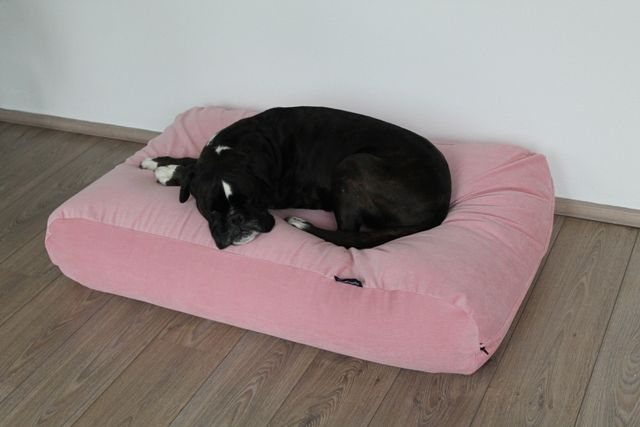 Dog's Companion dog bed pink corduroy