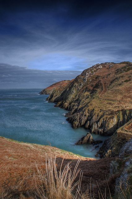 'Porth Wen' along The Anglesey Coastal Path, Wales