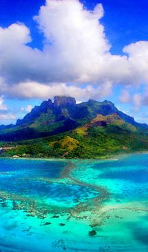 ✮ Colorful Mauritius ✮  This picture is so pretty!! :) I was reading about this island, Mauritius, located by Madagascar. It said that it was the only home of the Dodo bird! Plus, the dodos actually became extinct in the 17th Century!!! Whoa! I did not know that.