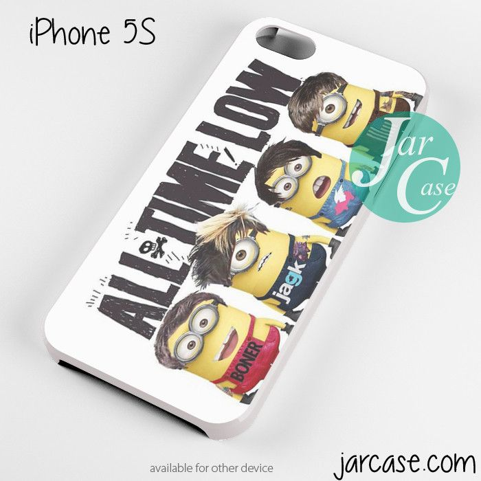 all time low minions Phone case for iPhone 4/4s/5/5c/5s/6/6 plus