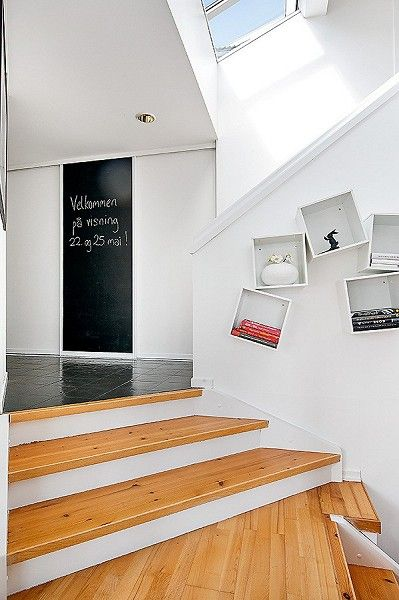 Stairs from living room