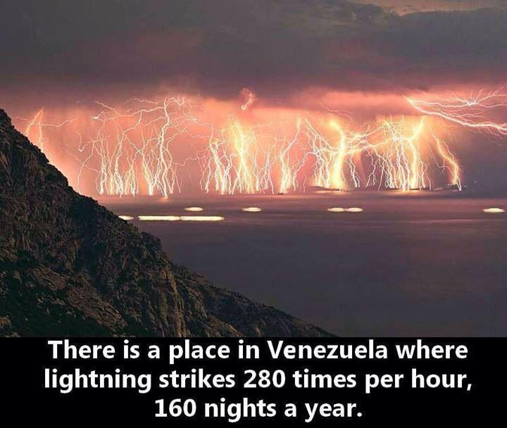 Catatumbo everlasting lightening storm!