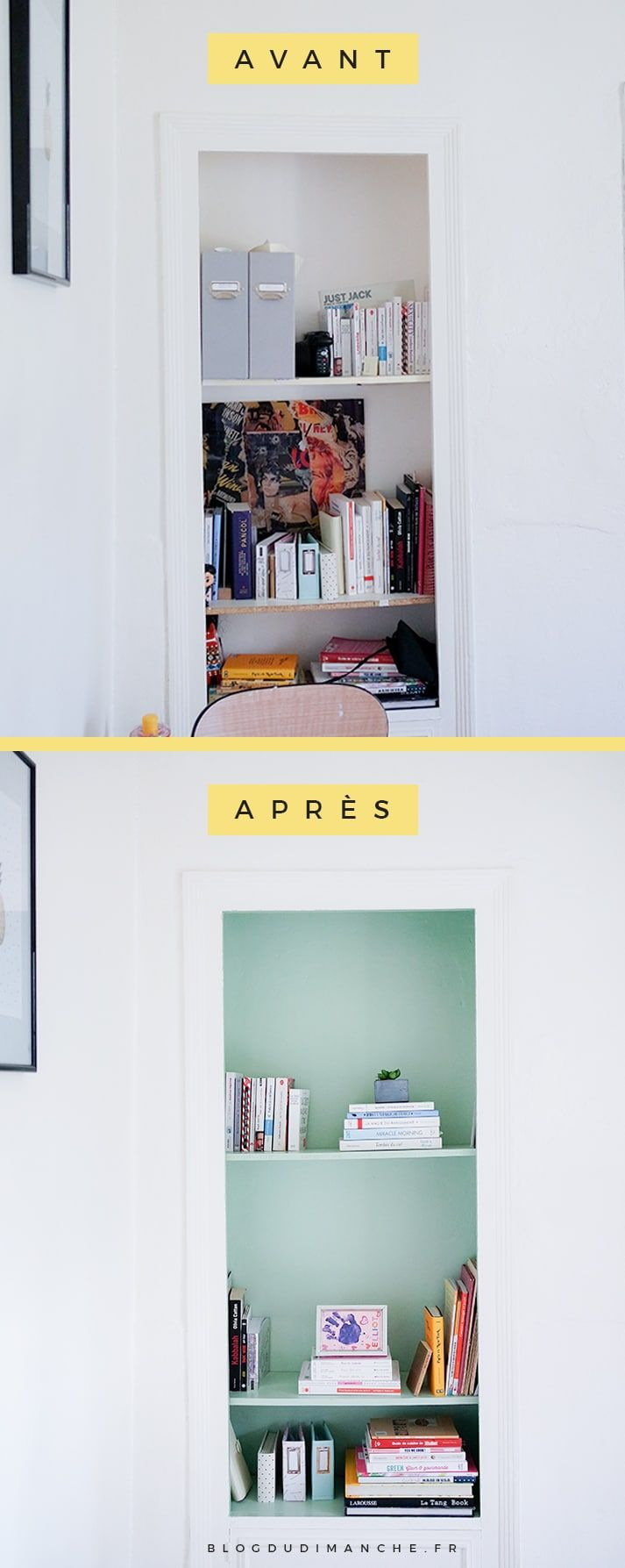 Une idée et des conseils pour embellir votre bibliothèque ! Cliquez pour lire ou épinglez pour plus tard !