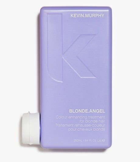 #BlondeAngel 250 ML.   Blond en grijs haar Kleurbevorderende treatment voor blond en grijs haar. Vooral fijn in combinatie met BLONDE.ANGEL.WASH. Het licht blonde kleurtonen op en verwijdert het grauwe effect. De treatment voedt, verzacht en herstelt het haar, terwijl de kleur weer wordt verfrist. Mango, shea en murumuru butter zijn de key ingrediënten die blond haar weer gezond maken. #KevinMurphy #Kevin #Murphy #LintsenKappers #Lintsen #Kappers
