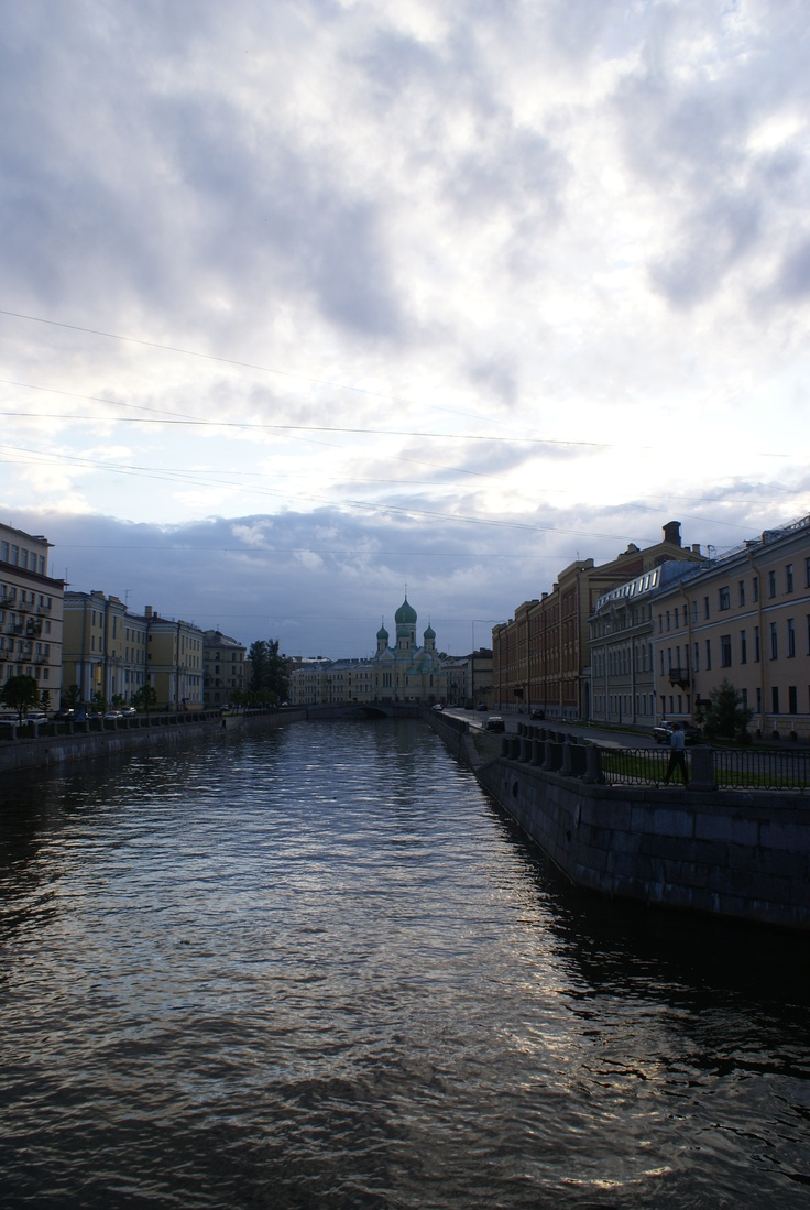 St Petersburg during the white nights in June