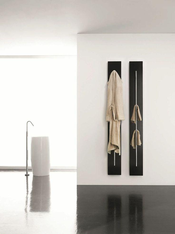 Radiateur sèche-serviettes design à eau chaude/électrique - TESO by Dante O Benini & Luca Gonzo - Antrax IT