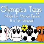 Do you want to start your year with the Olympic Spirit? Here you can find very cute tags for your lockers, name tags, bulletin board decoration, ca...