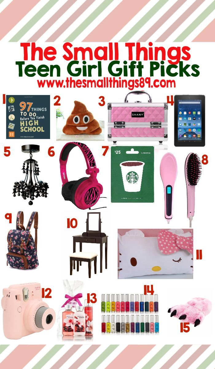 Looking For Teen Girl Gift Ideas Look No Further Check Out The Small Things Top 15 Picks Here