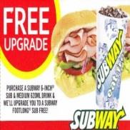 Vouchers to Seize Deals at Subway Restaurants - WA Only!