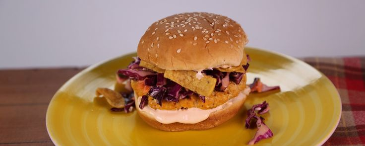 Craving a little heat on your burger? Try Daphne's buffalo chicken burger for extra zing!