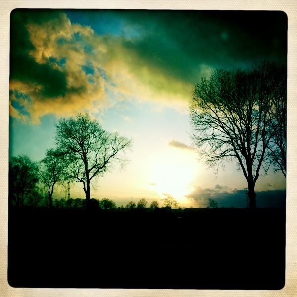 Dutch sky, jan 2012