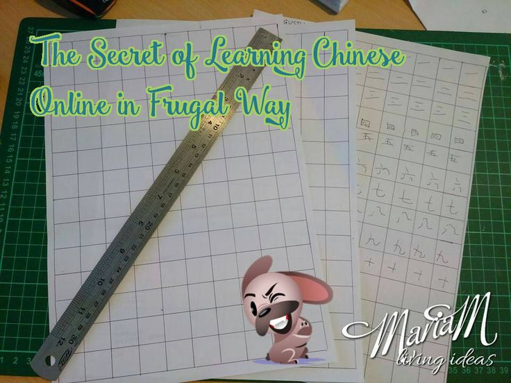 The Secrets of Learning Chinese Online in Frugal Way