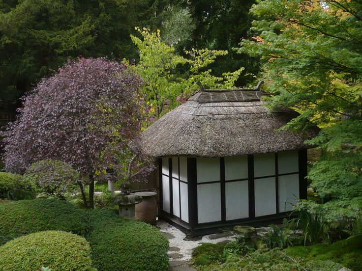 of the entrance path to the japanese garden at tatton park cheshire