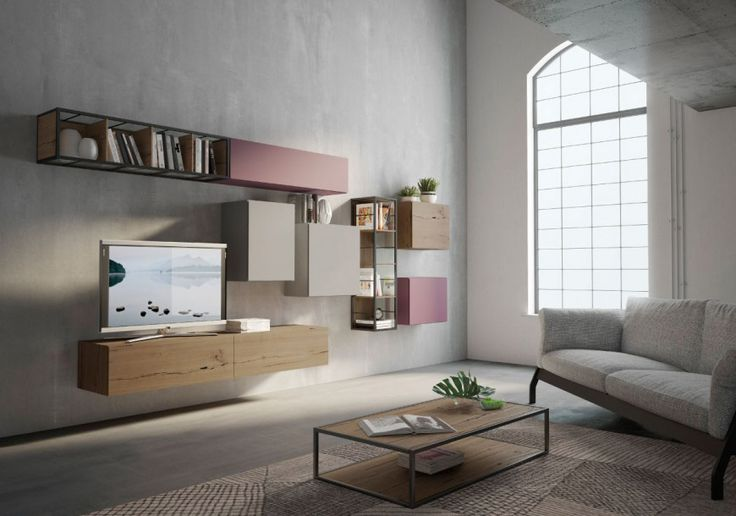 18 best render zona giorno images on pinterest modern for Zona living design