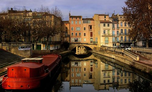 Would love to take a canal trip through France on a river barge. from Paris down to Aigues Mortes (Gard)