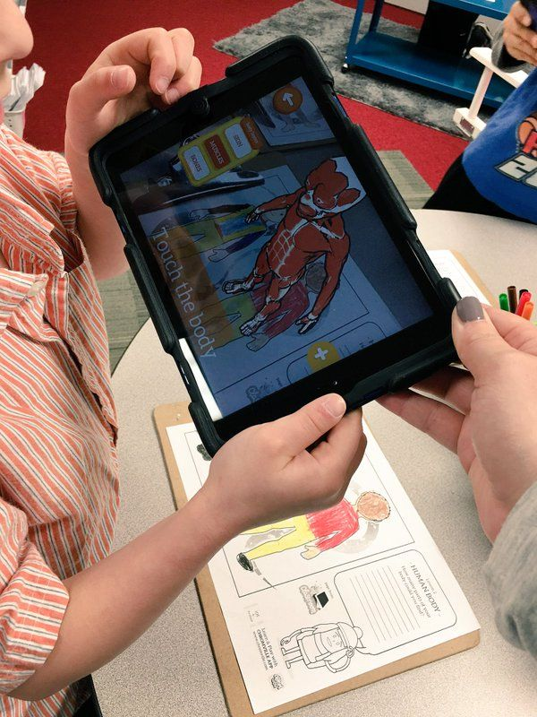 Learn about the human body by using the Chromville Science app. by @dani_compton