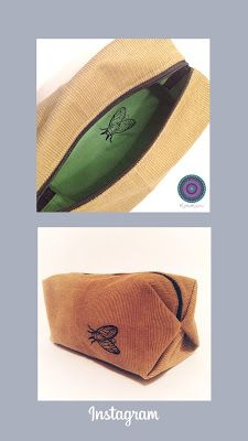 KathieKreativnäht PopUp Tasche(Farbenmix) - bestickt mit der Stickdatei Zikade - Taschenspieler4 Sew Along