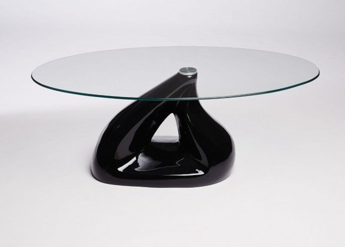 Cofee Table:Contemporary Glass Top Coffee Table Set And Glass End Table Ideas Modern Coffee Table For Small Space Oval Glass Coffee Table With Black Pyramid Design Base Contemporary Round Glass Coffee Table With Black Base Modern Round Glass Coffee Table Design