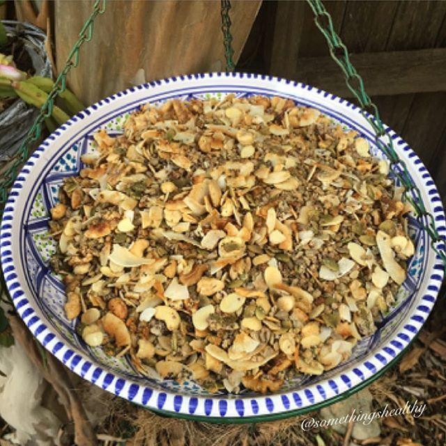 Fresh batch of home made Grain Free Granola using buckwheat… via @feedfeed on https://thefeedfeed.com/somethingshealthy/3837379