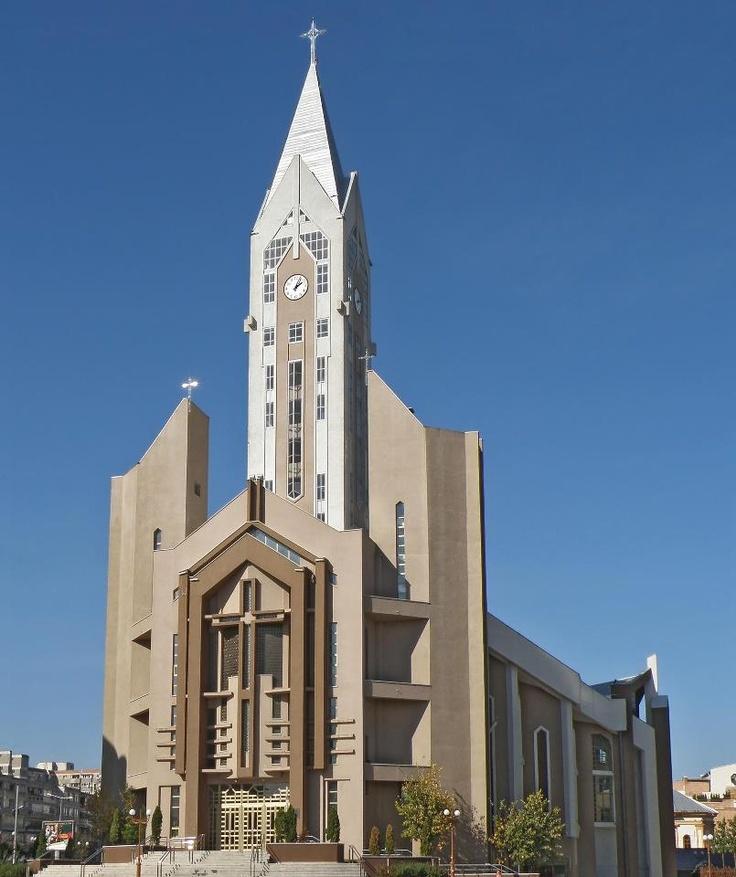 Catholic church, Bacau, Romania...