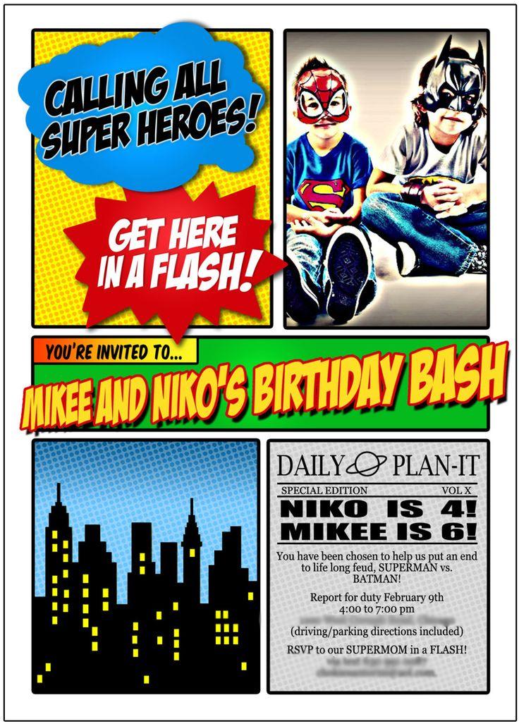46 best Batman v Superman images on Pinterest | Birthday party ideas ...