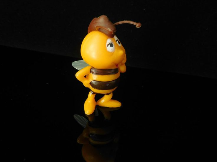 Cute Vintage Toys Collectible Maya the Bee Biene Maja Apolo Film Willi