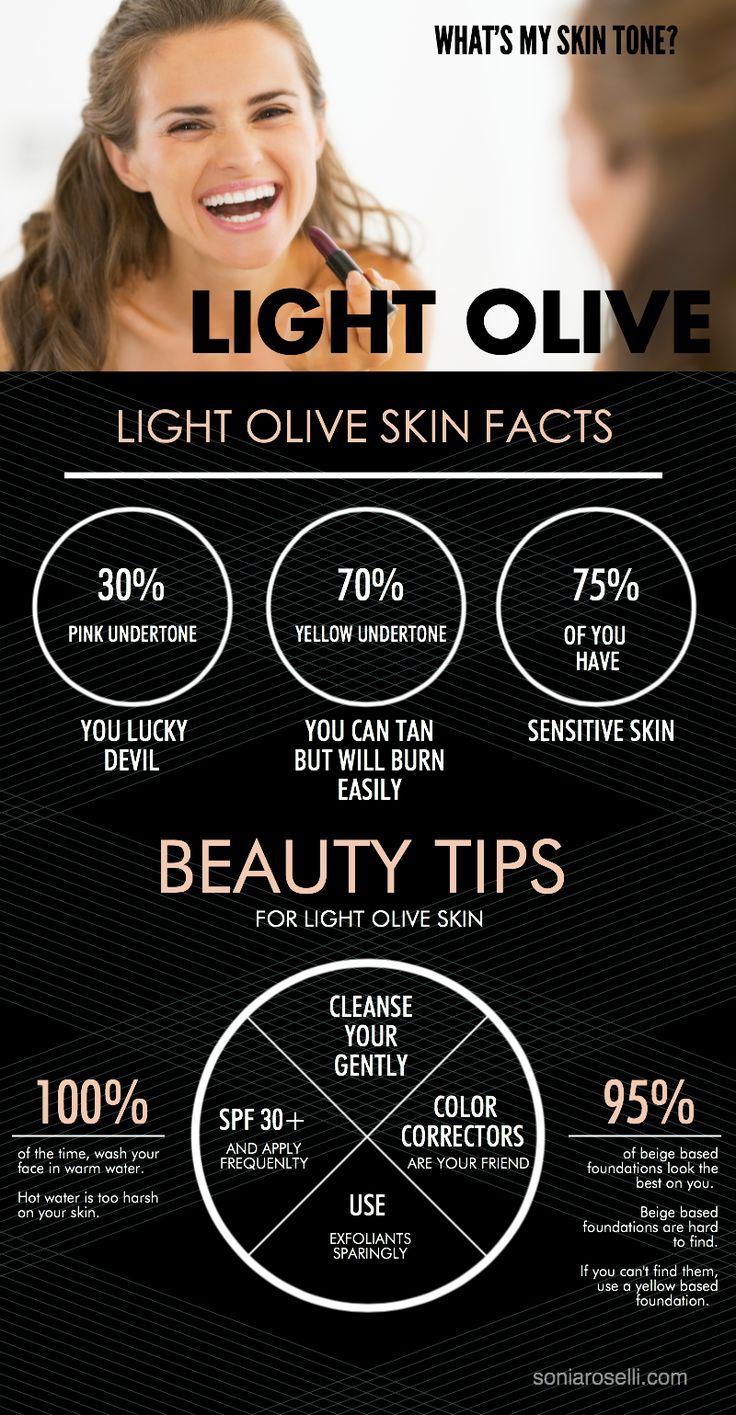 Charcteristics of Light Olive Skin | That's me! It sounds ...  Charcteristics ...