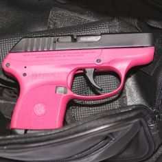 pink hand guns for women | Raspberry Ruger .380 auto - Gun and Game - Firearms Forums