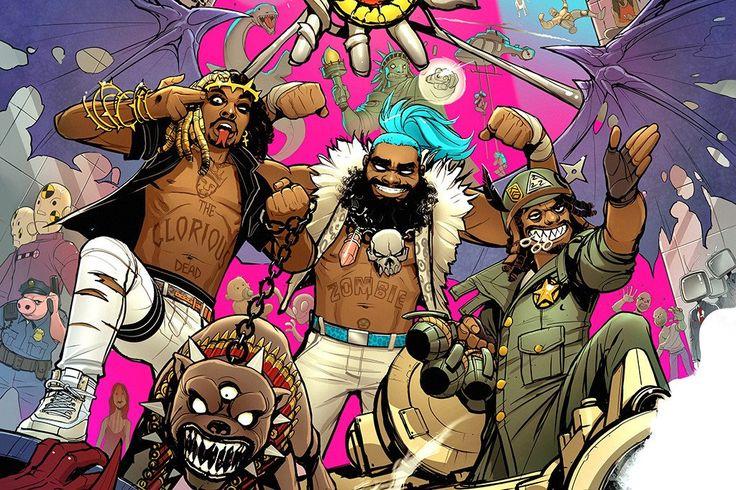 Bounce By Flatbush Zombies Http Letsloop Com Artist Flatbush
