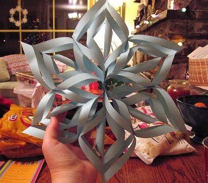 estrella de navidad de papel como molaaaa
