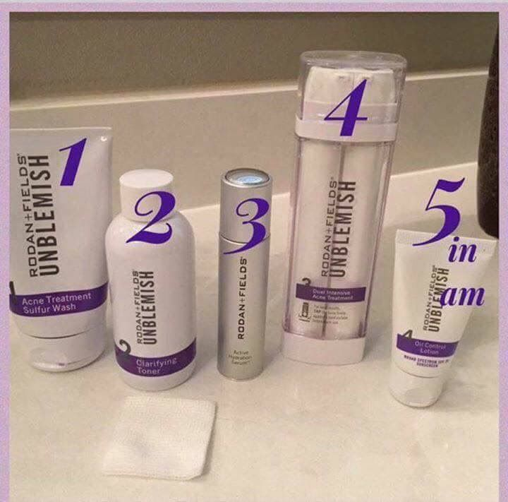 Unblemish Regimen with Active Hydration Serum to order  ModernJane.myRandF.com