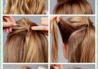 Peinados sencillos paso a paso para hacer uno mismo
