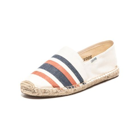 Natural Navy Coral espadrilles for Men from Soludos