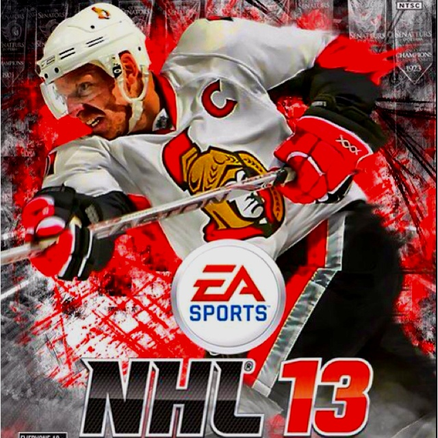 EA NHL 2013 fantasy cover! One more year!!